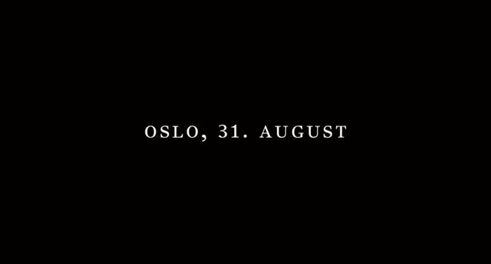 Oslo. August 31th