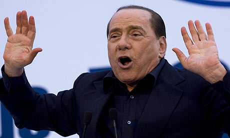Silvio Berlusconi terrible english