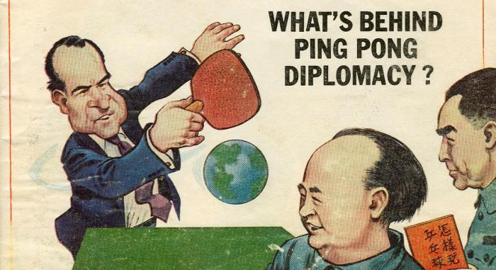 La diplomazia del Ping Pong