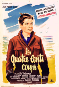 400 Blows movie poster
