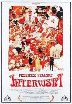 Fellini Intervista movie poster