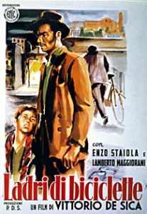 Ladri di biciclette movie poster